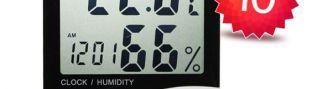 Скидка на термометр-гигрометр 10%. Алматы